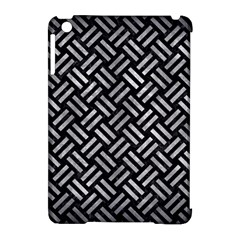 Woven2 Black Marble & Gray Metal 2 Apple Ipad Mini Hardshell Case (compatible With Smart Cover)
