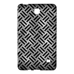 Woven2 Black Marble & Gray Metal 2 (r) Samsung Galaxy Tab 4 (7 ) Hardshell Case  by trendistuff