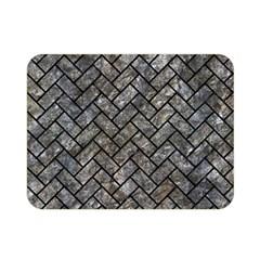 Brick2 Black Marble & Gray Stone (r) Double Sided Flano Blanket (mini)  by trendistuff