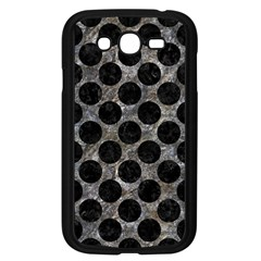 Circles2 Black Marble & Gray Stone (r) Samsung Galaxy Grand Duos I9082 Case (black) by trendistuff