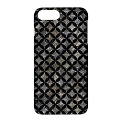 Circles3 Black Marble & Gray Stone (r) Apple Iphone 7 Plus Hardshell Case by trendistuff