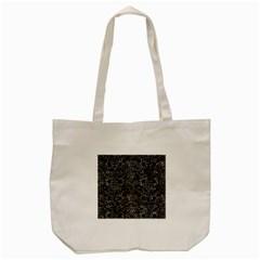 Damask2 Black Marble & Gray Stone Tote Bag (cream)