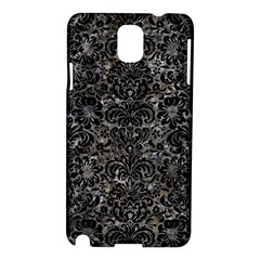 Damask2 Black Marble & Gray Stone (r) Samsung Galaxy Note 3 N9005 Hardshell Case by trendistuff