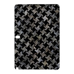 Houndstooth2 Black Marble & Gray Stone Samsung Galaxy Tab Pro 10 1 Hardshell Case by trendistuff