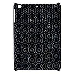 Hexagon1 Black Marble & Gray Stone Apple Ipad Mini Hardshell Case by trendistuff