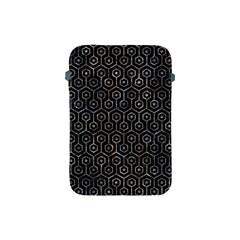 Hexagon1 Black Marble & Gray Stone Apple Ipad Mini Protective Soft Cases by trendistuff