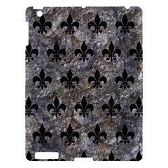 Royal1 Black Marble & Gray Stone Apple Ipad 3/4 Hardshell Case by trendistuff