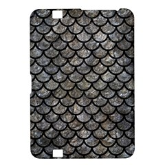 Scales1 Black Marble & Gray Stone (r) Kindle Fire Hd 8 9  by trendistuff