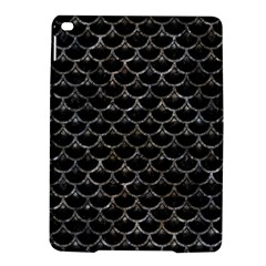 Scales3 Black Marble & Gray Stone Ipad Air 2 Hardshell Cases by trendistuff