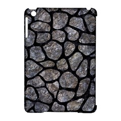 Skin1 Black Marble & Gray Stone Apple Ipad Mini Hardshell Case (compatible With Smart Cover) by trendistuff