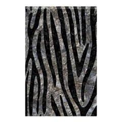 Skin4 Black Marble & Gray Stone Shower Curtain 48  X 72  (small)  by trendistuff