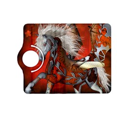Awesome Steampunk Horse With Wings Kindle Fire Hd (2013) Flip 360 Case by FantasyWorld7