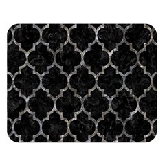 Tile1 Black Marble & Gray Stone Double Sided Flano Blanket (large)  by trendistuff