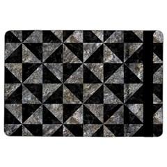 Triangle1 Black Marble & Gray Stone Ipad Air 2 Flip by trendistuff