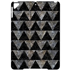Triangle2 Black Marble & Gray Stone Apple Ipad Pro 9 7   Hardshell Case by trendistuff