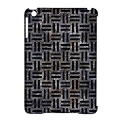 Woven1 Black Marble & Gray Stone (r) Apple Ipad Mini Hardshell Case (compatible With Smart Cover) by trendistuff