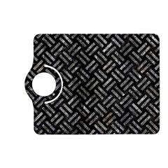 Woven2 Black Marble & Gray Stone Kindle Fire Hd (2013) Flip 360 Case by trendistuff