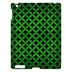 Circles3 Black Marble & Green Brushed Metal Apple Ipad 3/4 Hardshell Case by trendistuff