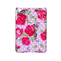 Shabby Chic,pink,roses,polka Dots Ipad Mini 2 Hardshell Cases by 8fugoso