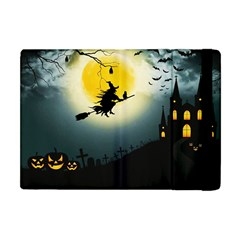 Halloween Landscape Apple Ipad Mini Flip Case by Valentinaart