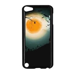Halloween Landscape Apple Ipod Touch 5 Case (black) by Valentinaart