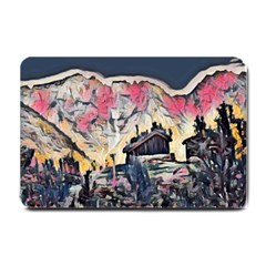 Modern Abstract Painting Small Doormat  by 8fugoso