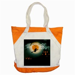 Halloween Landscape Accent Tote Bag by Valentinaart