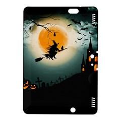 Halloween Landscape Kindle Fire Hdx 8 9  Hardshell Case by Valentinaart