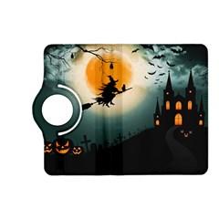 Halloween Landscape Kindle Fire Hd (2013) Flip 360 Case by Valentinaart