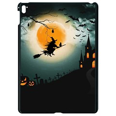 Halloween Landscape Apple Ipad Pro 9 7   Black Seamless Case by Valentinaart