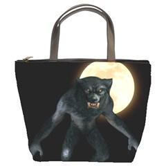 Werewolf Bucket Bags by Valentinaart