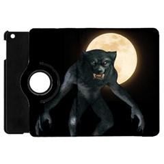 Werewolf Apple Ipad Mini Flip 360 Case by Valentinaart
