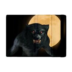 Werewolf Apple Ipad Mini Flip Case by Valentinaart