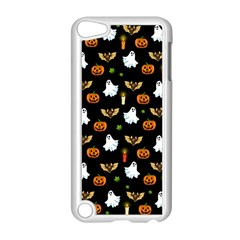 Halloween Pattern Apple Ipod Touch 5 Case (white) by Valentinaart