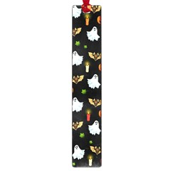 Halloween Pattern Large Book Marks by Valentinaart