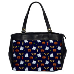 Halloween Pattern Office Handbags by Valentinaart