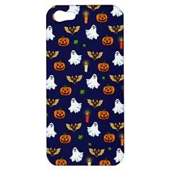 Halloween Pattern Apple Iphone 5 Hardshell Case by Valentinaart