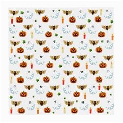 Halloween Pattern Medium Glasses Cloth (2 Side) by Valentinaart