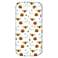 Halloween Pattern Samsung Galaxy S3 S Iii Classic Hardshell Back Case by Valentinaart