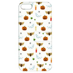 Halloween Pattern Apple Iphone 5 Hardshell Case With Stand by Valentinaart