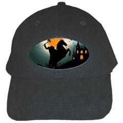 Headless Horseman Black Cap by Valentinaart