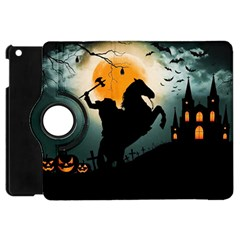 Headless Horseman Apple Ipad Mini Flip 360 Case by Valentinaart