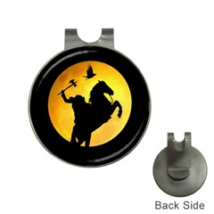Headless Horseman Hat Clips With Golf Markers by Valentinaart