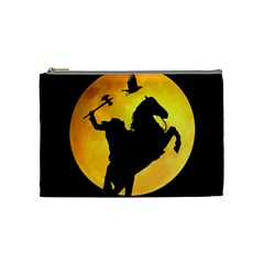 Headless Horseman Cosmetic Bag (medium)  by Valentinaart
