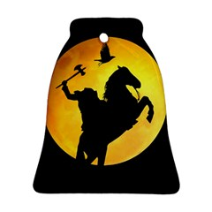 Headless Horseman Bell Ornament (two Sides) by Valentinaart
