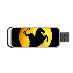 Headless Horseman Portable Usb Flash (two Sides) by Valentinaart