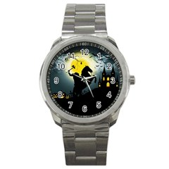 Headless Horseman Sport Metal Watch by Valentinaart