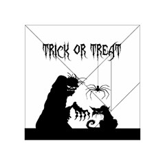 Halloween Acrylic Tangram Puzzle (4  X 4 ) by Valentinaart