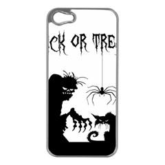 Halloween Apple Iphone 5 Case (silver) by Valentinaart