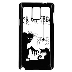 Halloween Samsung Galaxy Note 4 Case (black) by Valentinaart
